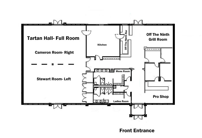 Crranberry Highlands Clubhouse Floor Plan
