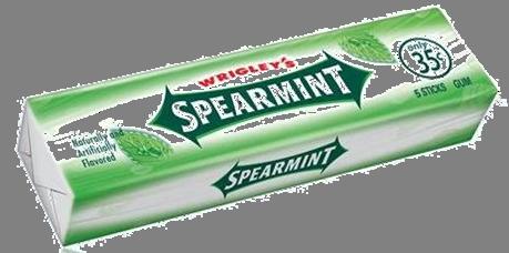 Spearmeint Gum