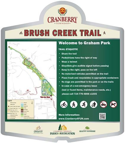 Brush Creek Trail Sign