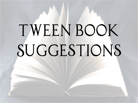 Tween Book Suggestions button