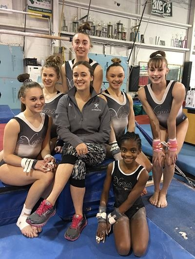 Xquisite Gymnastics Team  March 2017