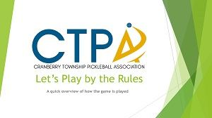 Pickleball Play by the rules 300