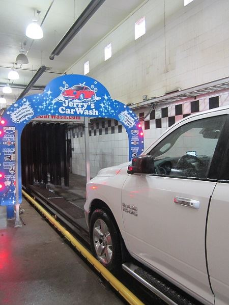 Jerry Car Wash web
