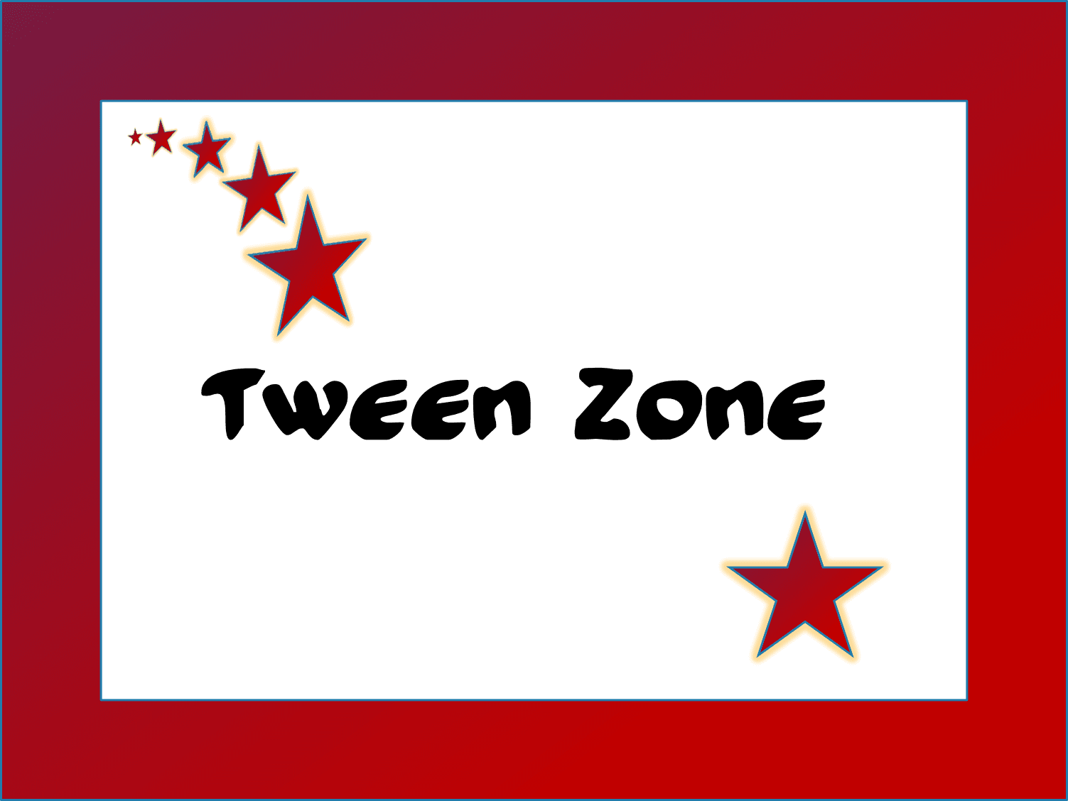 Tween Zone block
