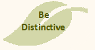 Be Distinctive