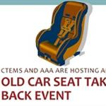 Car Seat Take Back Aug 27