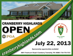 Cranberry Highlands Open- July 22, 2013