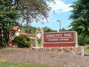 Community Park Entrance