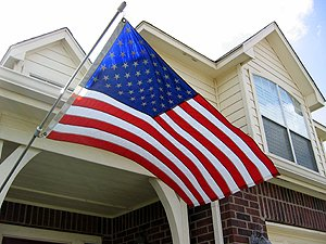 Old glory cranberry township official website for Flag etiquette at home