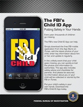 Free FBI Child ID App