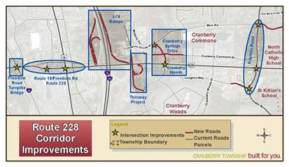 Rt 228 corridor improvements