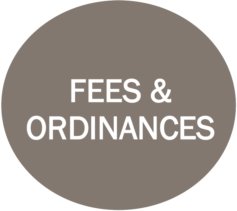 Fees and Ordinances