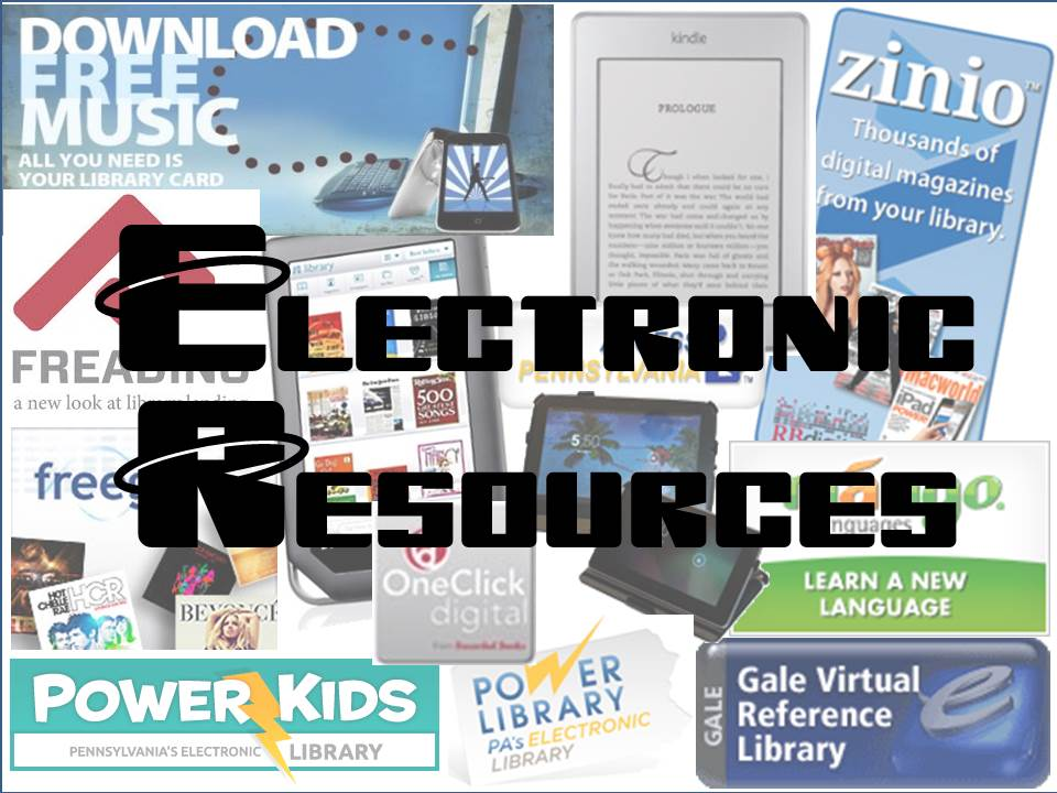 Electronic Resources link